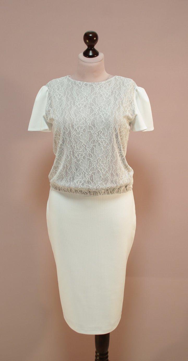 Блузка На Резинке Внизу Купить