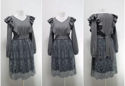 Платье с воланами на праздничный корпоратив как выглядеть женственно и стильно