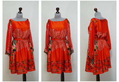 Красное Платье Туника Доставка